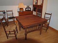 Vue d'ensemble, table ancienne